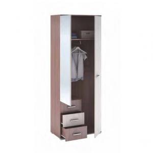 Шкаф бельевой двухстворчатый с ящиками «Рошель ШК-802»